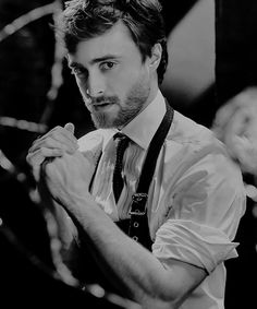Daniel Radcliffe photographed by Gavin Bond, 2015.