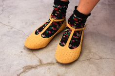 I think socks and sandals will be my new thing.