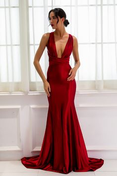 Red dresses classy - Elegant Satin Long Prom Dress Online Women's Maxi Dresses – Red dresses classy Award Show Dresses, Gala Dresses, Prom Dresses Online, Satin Dresses, Satin Gown, Dress Online, Prom Gowns, Party Dresses, Plus Size Wedding Dresses With Sleeves