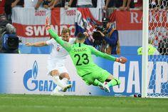 Danijel Subasic, Marcus Rashford - Danijel Subasic Photos - England vs. Croatia: Semi Final - 2018 FIFA World Cup Russia - Zimbio