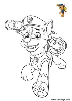 free printable paw patrol colouring pages and activity sheets