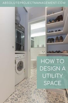 Designing your utility space. Planning joinery to optimise space for storage  #utilityinspo #joinerydesign #utility #absoluteprojectmanagement Vacuum Cleaner Storage, Utility Room Designs, Kitchen Ventilation, Bright Color Schemes, Cleaning Chemicals, Good Environment, Splashback, Cupboard Storage, Other Rooms