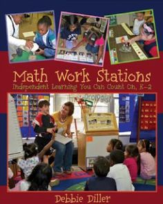 This summer, I was on the fence about my Math block...do I stay with Math Daily Five or do I switch to Debbie Diller's Math Work Stations?? I think both have great qualities! BUT...I decided to make the switch and I am LOVING it! my first year of implementation.