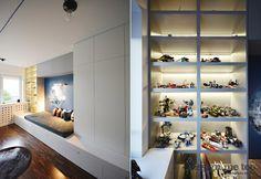 Pokój tematyczny dla chłopca - Architektura, wnętrza, technologia, design - HomeSquare
