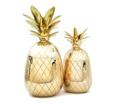 s h i n y p i n e . n l - brass pineapples