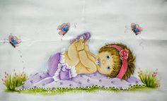 Coisas da Nil - Pintura em tecido: Que amorzinho!!!!