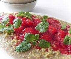 vegan and gluten free breakfast / porridge / no oat