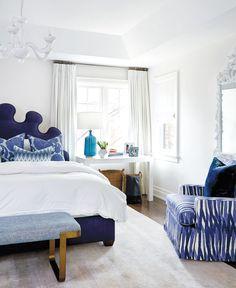 Photos : 25+ pièces bleues   Maison et Demeure