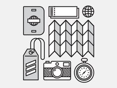 Travel Icons/Illustrations