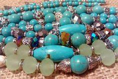 Pulseras turquesas turquoise bracelets