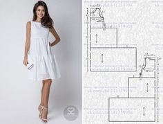Amazing Sewing Patterns Clone Your Clothes Ideas. Enchanting Sewing Patterns Clone Your Clothes Ideas. Sewing Dress, Dress Sewing Patterns, Sewing Patterns Free, Sewing Clothes, Clothing Patterns, Diy Clothes, Clothes For Women, Simple Dresses, Casual Dresses