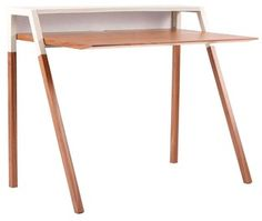 Row Desk - Option #3 - Blu Dot Cant Desk | 2Modern Furniture & Lighting