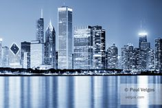 Hey, I found this really awesome Etsy listing at https://www.etsy.com/listing/169226345/chicago-skyline-print-blue-chicago