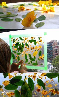educar la mirada de los niños jugando con flores Animal Activities, Spring Activities, Craft Activities For Kids, Crafts For Kids, Spring Projects, Art Projects, Reggio Emilia, High School Art, Spring Art