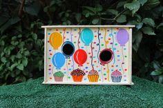 Birthday bird house - Marise Bahia