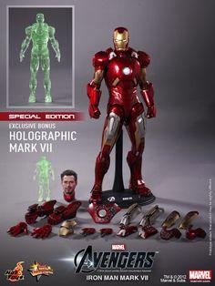 Hot Toys finally reveals their AVENGERS Iron Man Mark VII Figurine!