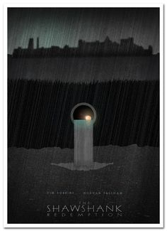 Shawshank Redemption   Alternative Poster 3 by 3ftDeep on Etsy