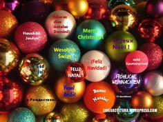 Feliz Natal! FRÖCHLICHE WEIHNACHTEN! Marry Christmas! FELIZ NAVIDAD!