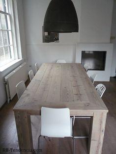 stoelen,oud eikenhout,tafels,steigerhout, teak tafel, wagondelen,op maat, salontafel, bed, loungebank, tuintafel, hardhout, fauteuil, boomstam, breda, noord-brabant, belgie - Steigerhouten Tafels