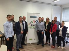 Chief Executive of the IE Domain Registry drops in to learn about the Startup Gathering