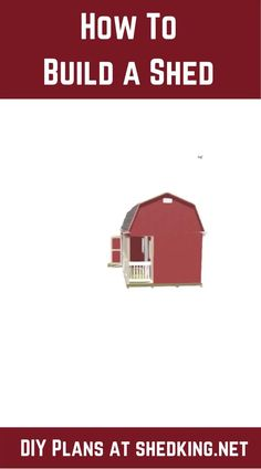 Learn how to easily build a shed to use for she sheds, workshop sheds, garden sheds, tiny houses, shed homes, chicken coops and more. Cabin Plans With Loft, Small Cabin Plans, Backyard Storage Sheds, Shed Storage, Shed Building Plans, Shed Plans, 3d Building Models, Workshop Shed, Shed Builders