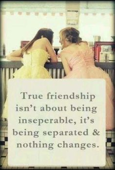 This is definitely me and my best friend