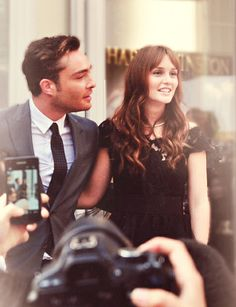 <3 blair and chuck (finished GG a week ago..still having withdrawals..)