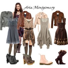 Aria Montgomery Inspired, created by kamababus.polyvore.com