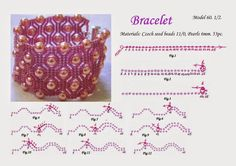 free beading patterns MalaBead: Model 60.