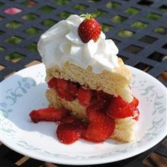 There's more than one way to make delicious strawberry shortcake. Get 15 of our favorite strawberry shortcake variations now. Spring Desserts, Köstliche Desserts, Dessert Recipes, Breakfast Recipes, Strawberry Shortcake Recipes, Strawberry Desserts, Blue Strawberry, Strawberry Picking, Strawberry Cheesecake