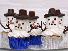 Snowman Cupcake Recipe - Momtastic