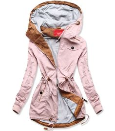 Jarná parka staroružová - Bundy - MODOVO Parka, Raincoat, Coats, Jackets, Fashion, Rain Jacket, Down Jackets, Moda, Wraps