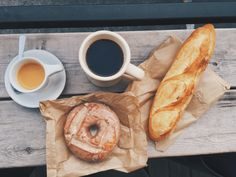PDX food splurge. barista coffee. Little t bakery and blue star donuts.