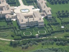 RENNERT MANSION, SAGAPONACK, NY: 66,400 square feet. Junk bond legend Ira Rennert's mansion sits on 63 acres of land. Rumors have the number of bedrooms varying from 21 to 29.