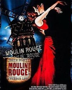 Watch moulin rouge for free online. And moulin rouge show with free drop-off limited availability top seller. Jealous duke covets in this stylish musical, with music drawn from familiar Moulin Rouge Movie, Le Moulin, Ewan Mcgregor Moulin Rouge, Baz Luhrmann, Freedom Love, Sites Touristiques, Thing 1, Movies To Watch Free, Romance Movies