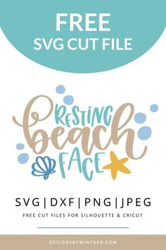 297 Best Summer SVG files | Silhouette and Cricut Cutting