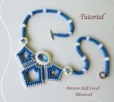 Beading pattern instructions beadweaving by PeyoteBeadArt on Etsy