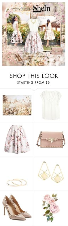 """""""SheInside"""" by kristina-kazlauskaite ❤ liked on Polyvore featuring Graham & Brown, H&M, Valentino, Jaeger, Sheinside and shein"""