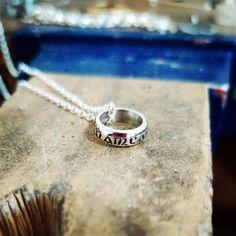 Custom Irish Gifts ~ Anam Cara 🌿 Soulmate. A beautiful little design by Claddagh Design Irish Jewellery.
