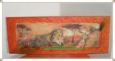 Savana com leão1