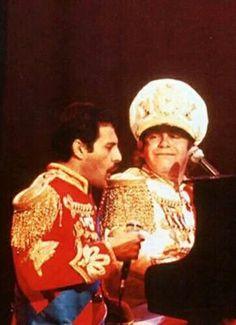 Freddie and Elton