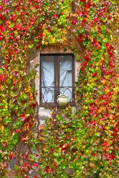 Secret Window  Radicofani in Tuscany, Italy Siena