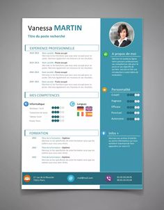 To get the job, you a need a great resume. The professionally-written, free resume examples below can help give you the inspiration you need to build an impressive resume of your own that impresses… Cv Resume Template, Resume Cv, Resume Design, Word Cv, Cv Words, Cv Manager, Cv Curriculum, Creative Cv Template, It Cv