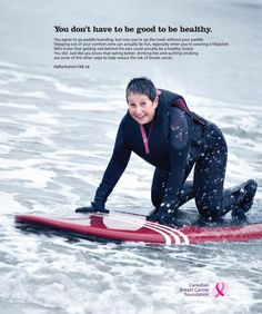 Canadian Breast Cancer Foundation ha lanzado una campaña para reforzar la idea de la revisión temprana para detectar algún cancer.