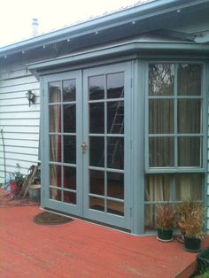 BAY Window With French Doors | eBay