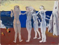 Otto Mäkilä: The Sirens I, 1947