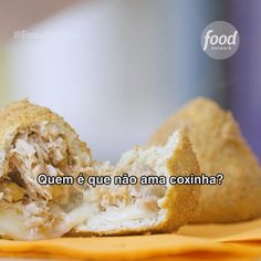Conheça a receita de Coxinha Low Carb do Food Network Coxinha Low Carb, Low Carb Diet, Perfect Food, Food Menu, Street Food, Food Hacks, Food Network Recipes, Food Videos, Low Carb Recipes