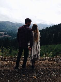 I love this picture because it looks like two people in love looking out at the world.