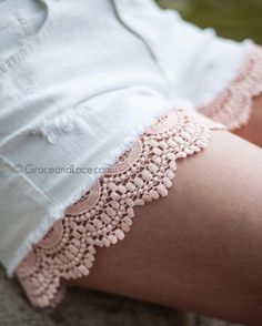 Grace and Lace - Shorties shorts extenders, Blush