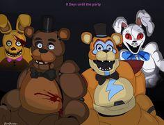 Fnaf Freddy, Freddy Fazbear, Five Nights At Freddy's, Fnaf Baby, Fnaf Wallpapers, Fnaf Characters, Fnaf Drawings, Anime Fnaf, Undertale Comic